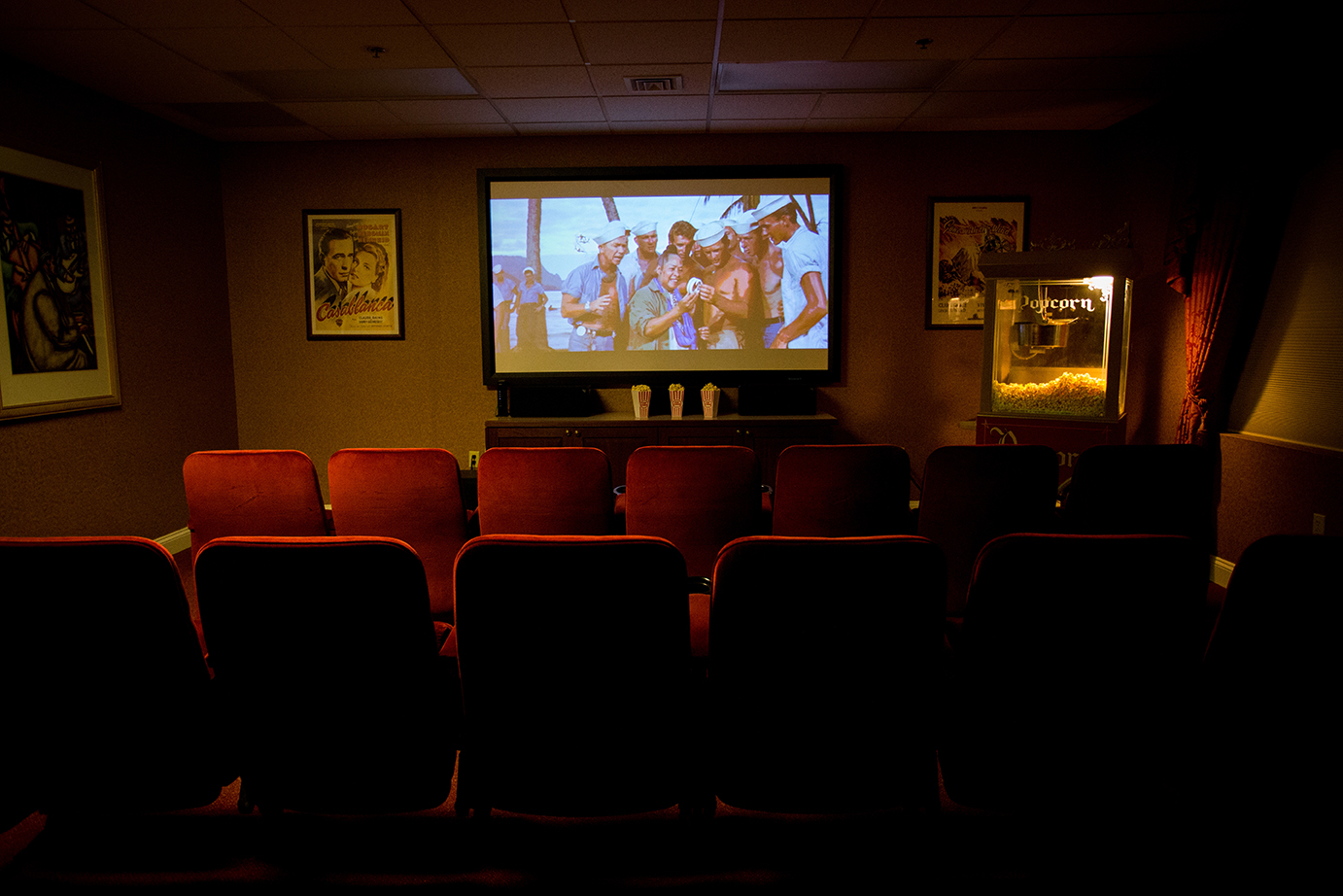 Brandywine Living at Dresher Estates Movie Theater