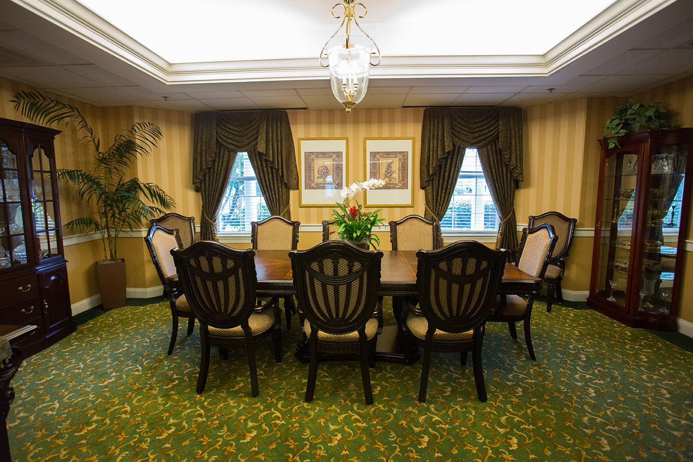 Brandywine Living at Dresher Estates Private Dining Room