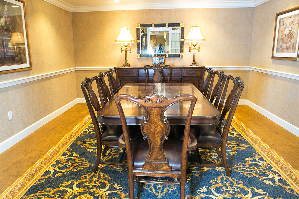 Brandywine Living at Litchfield Private Dining Room