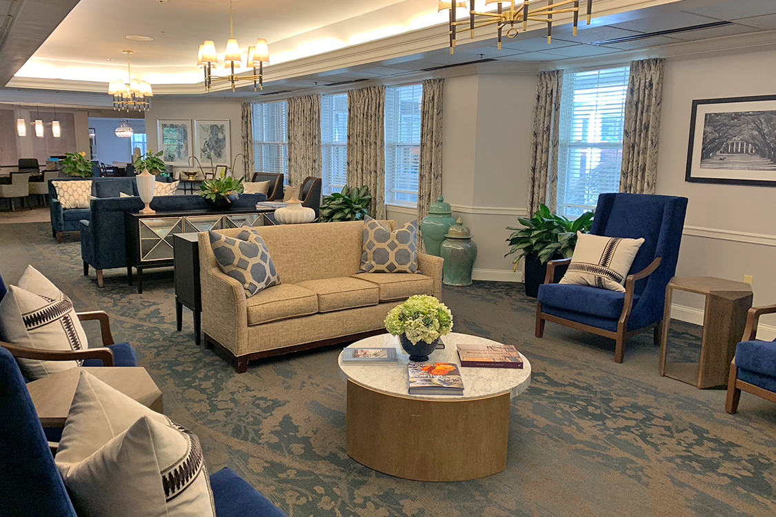 Senior Living Living Room