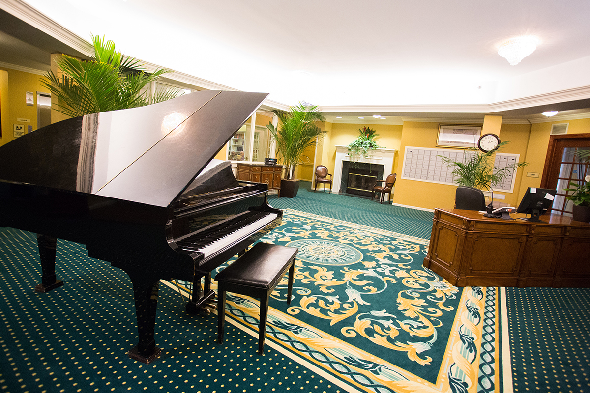 Senior Living Music Room