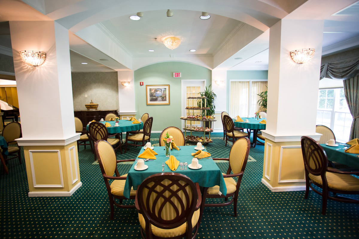 Brandywine Living at The Gables Dining Room