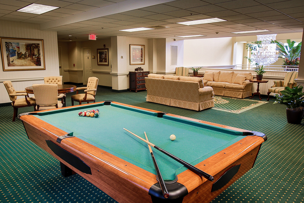 Brandywine Living at Princeton Game Room