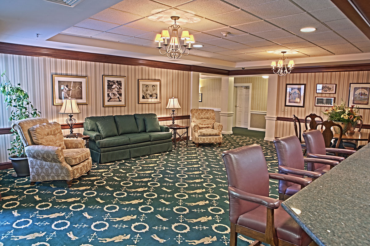 Brandywine Living at Senior Suites Game Room