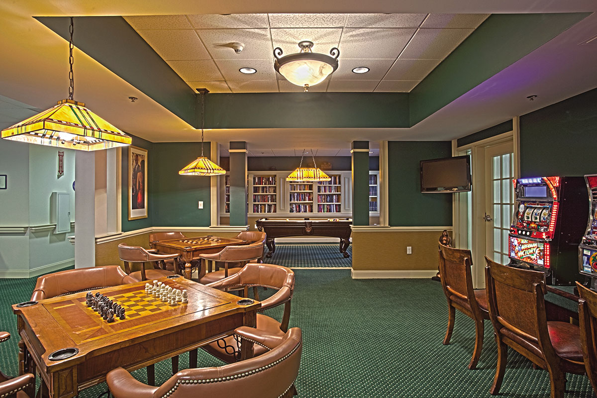 Brandywine Living at Howell Game Room