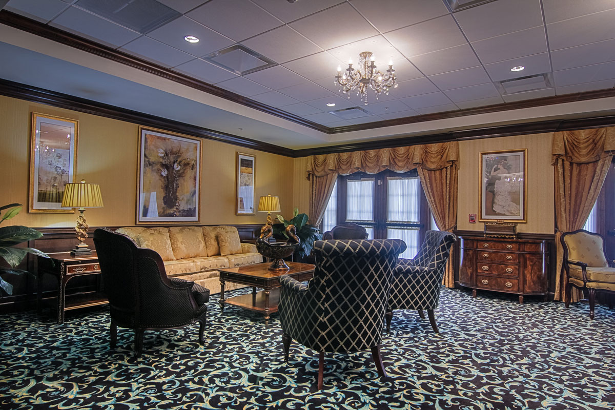 Brandywine Living at Mahwah Living Room