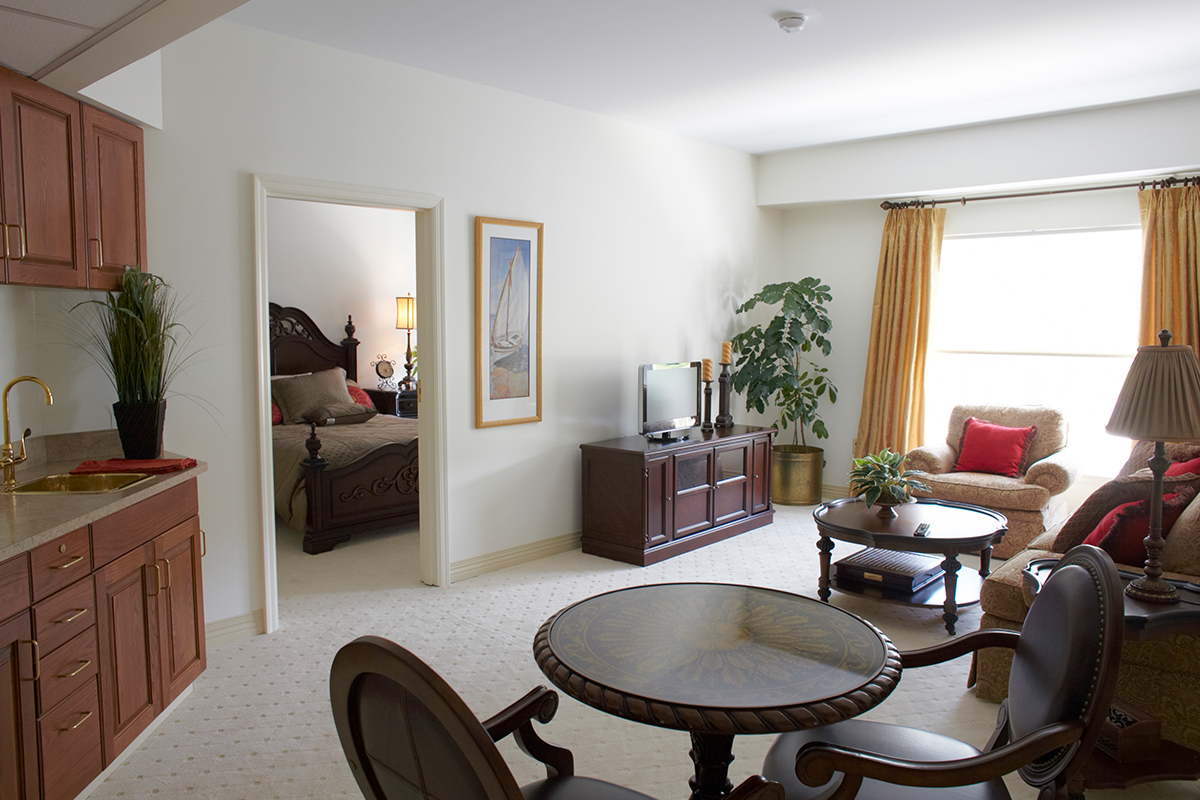 Brandywine Living at Moorestown Estates Senior Living Model Room