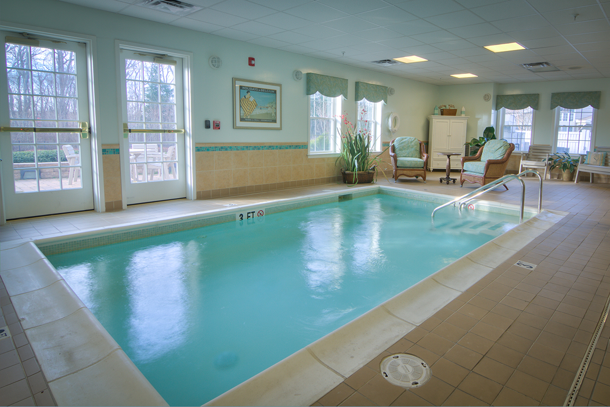 Brandywine Living at Fenwick Island Therapy Pool