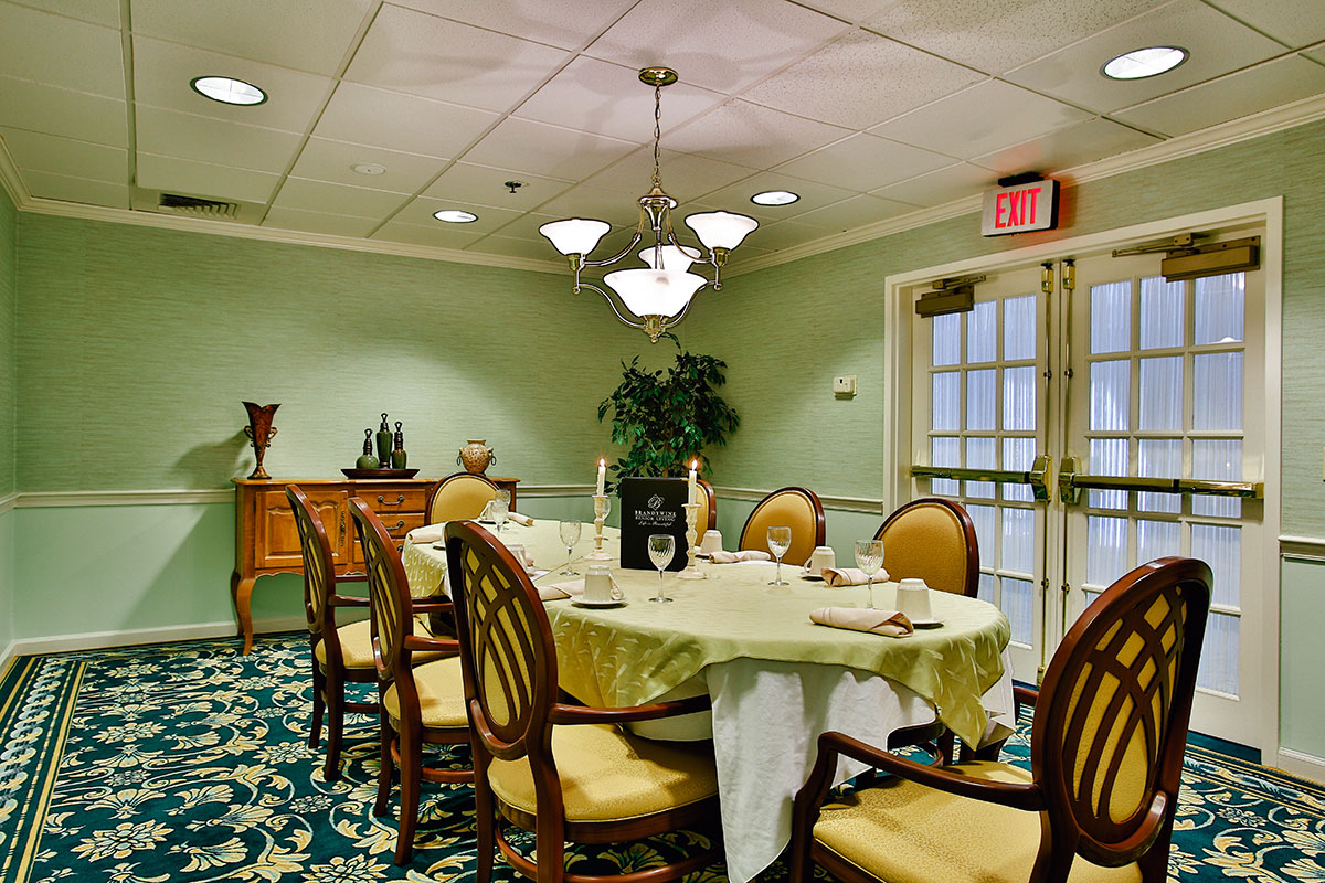 Brandywine Living at Haddonfield Private Dining Room