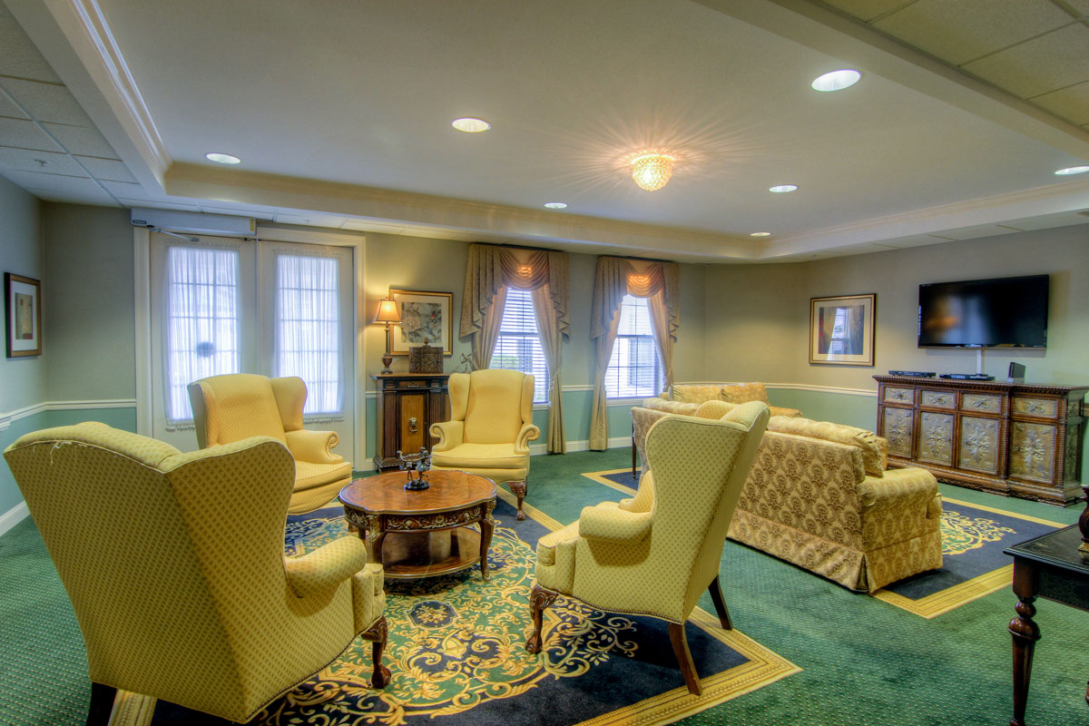 Brandywine Living at Toms River Living Room