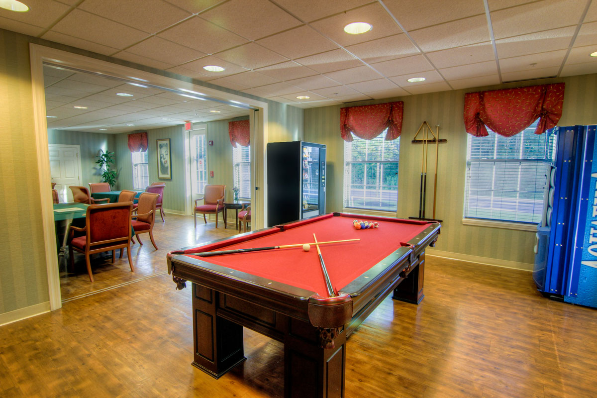 Brandywine Living at Toms River Game Room