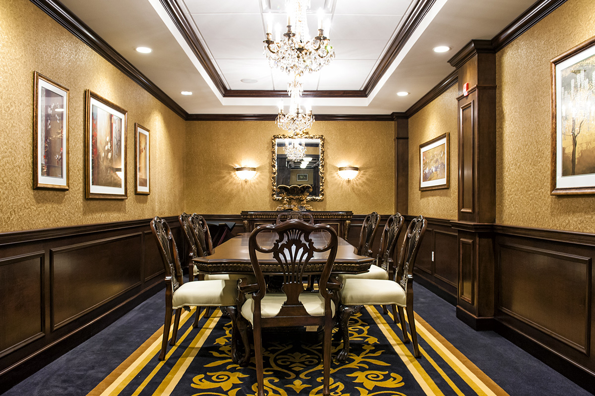 Brandywine Living Upper Providence Private Dining Room
