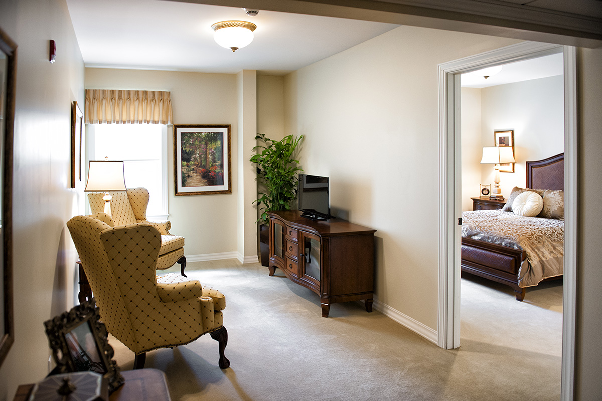 Brandywine Living Upper Providence Model Room