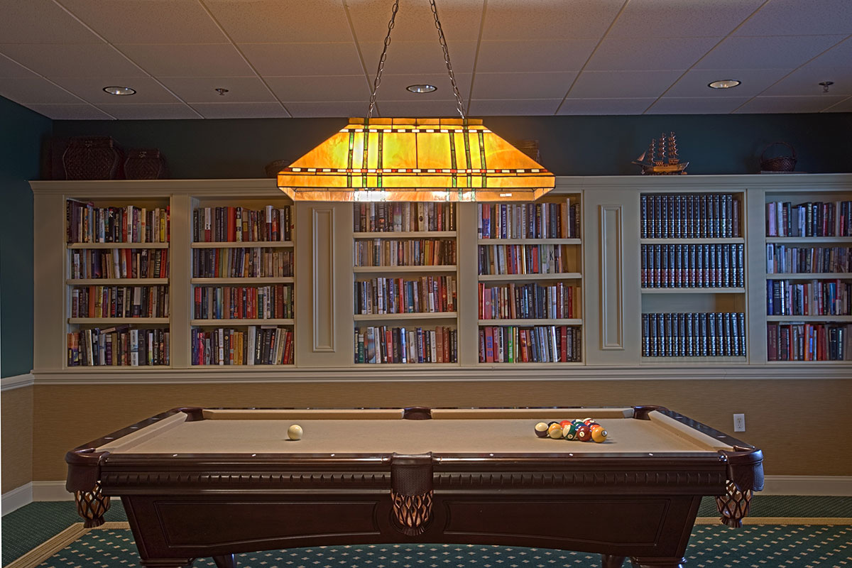 Brandywine Living at Howell Pool Table