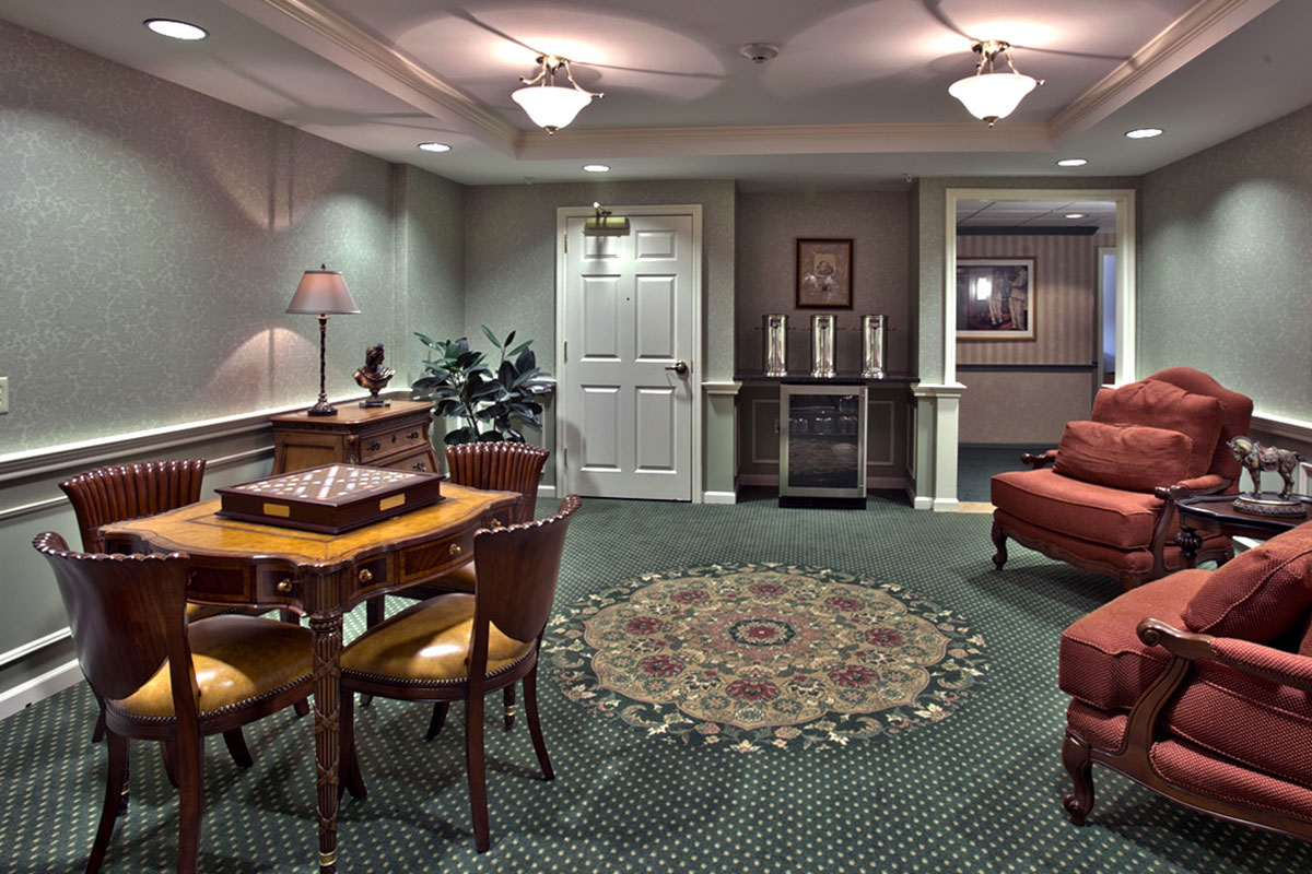 Brandywine Living at Middlebrook Crossing Game Room