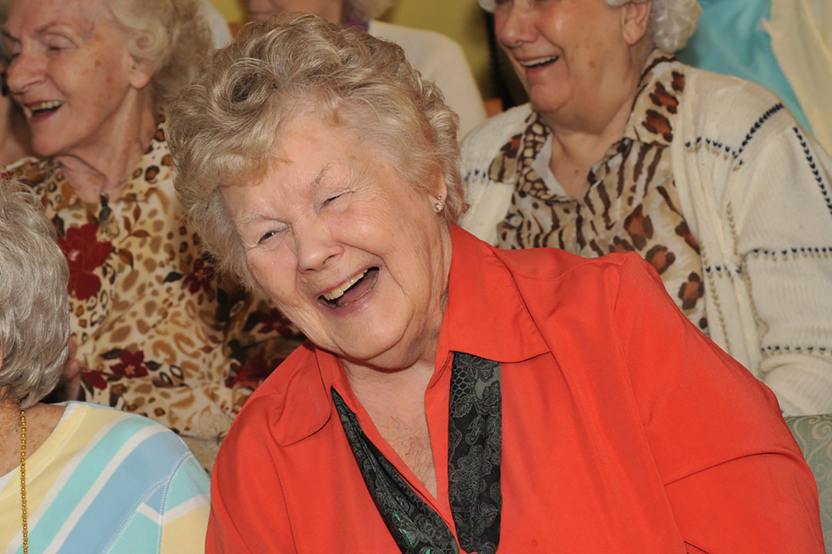 Laughing Female Senior