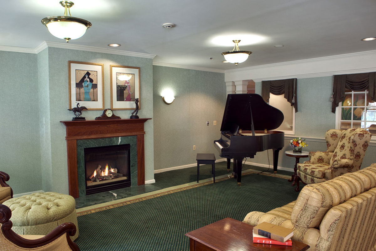Brandywine Living at Middlebrook Crossing Music Room