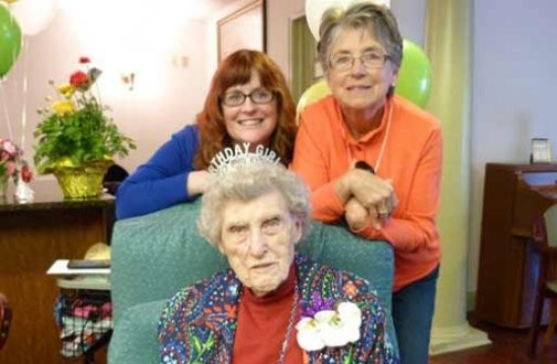Helen Turner, Brandall Estates, 107 years old
