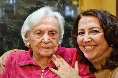 Maria Regina Lucarelli celebrates her 100th
