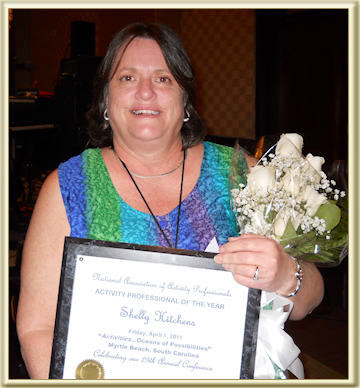 Activities Director Receives National Honor