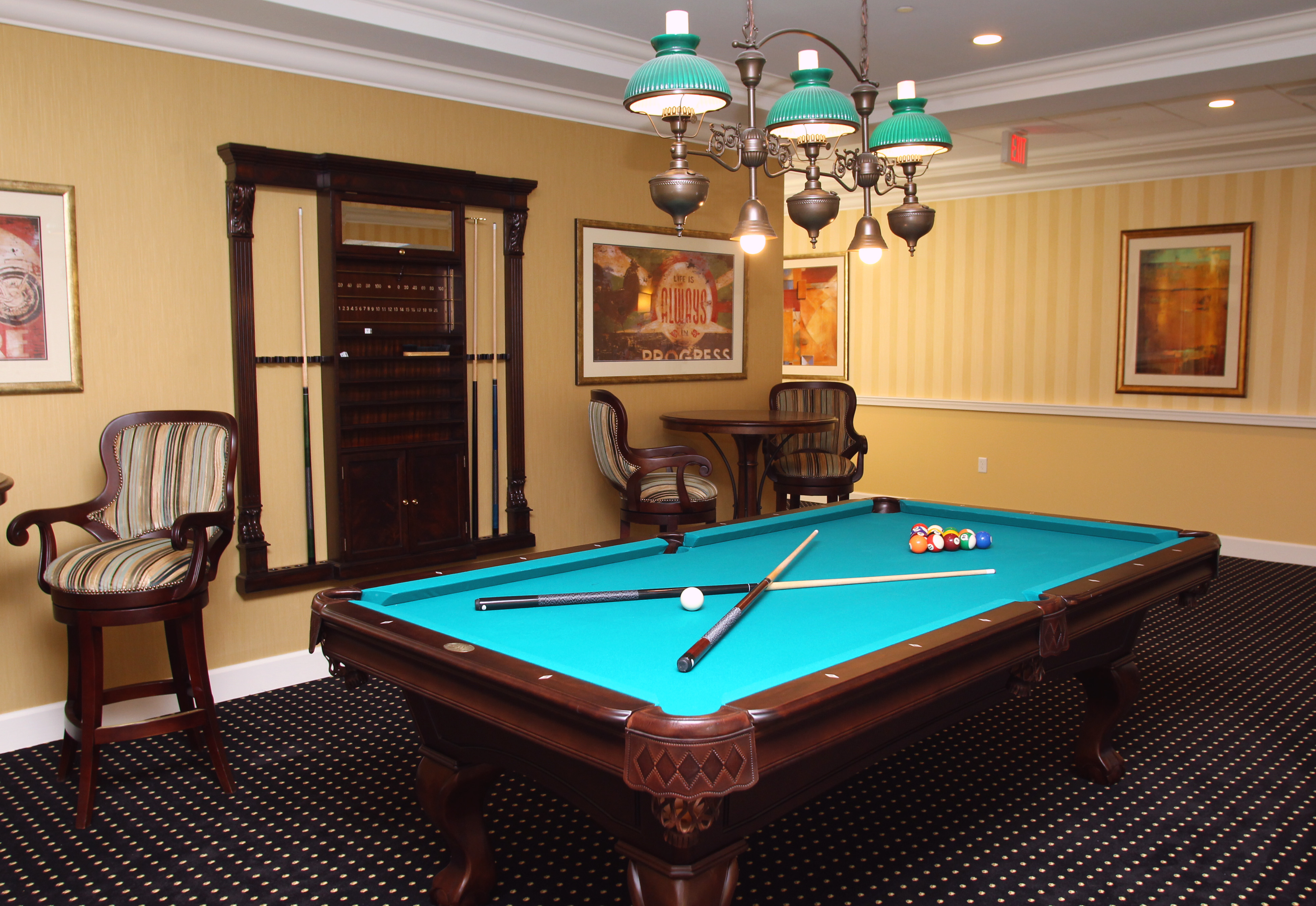Brandywine Living at Livingston Game Room