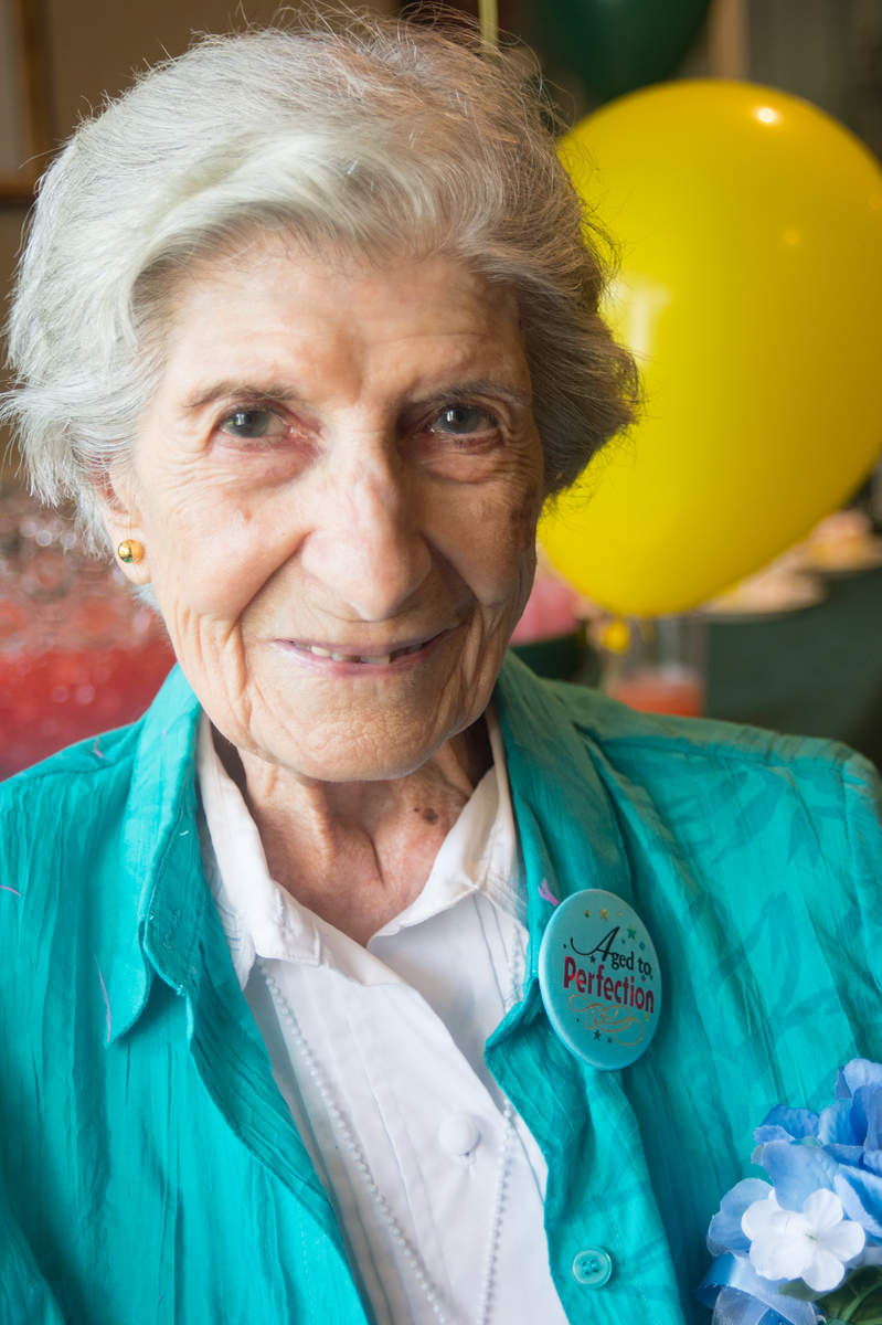 103rd Birthday, Theresa Falzone, Brandywine Living at Seaside Pointe, Brandywine Senior Living Rehoboth Beach