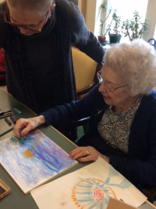 Life Through Art - My Story, Art Therapy, PAFA, Brandywine Living at Haverford