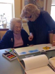 PAFA, art therapy, arts program inspires seniors