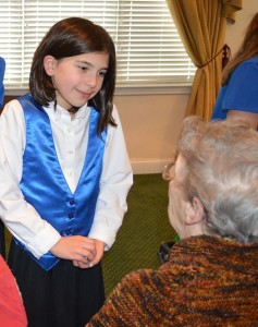Hopewell Valley Youth Chorale, brandywine senior living at pennington, senior care, memory care, assisted living
