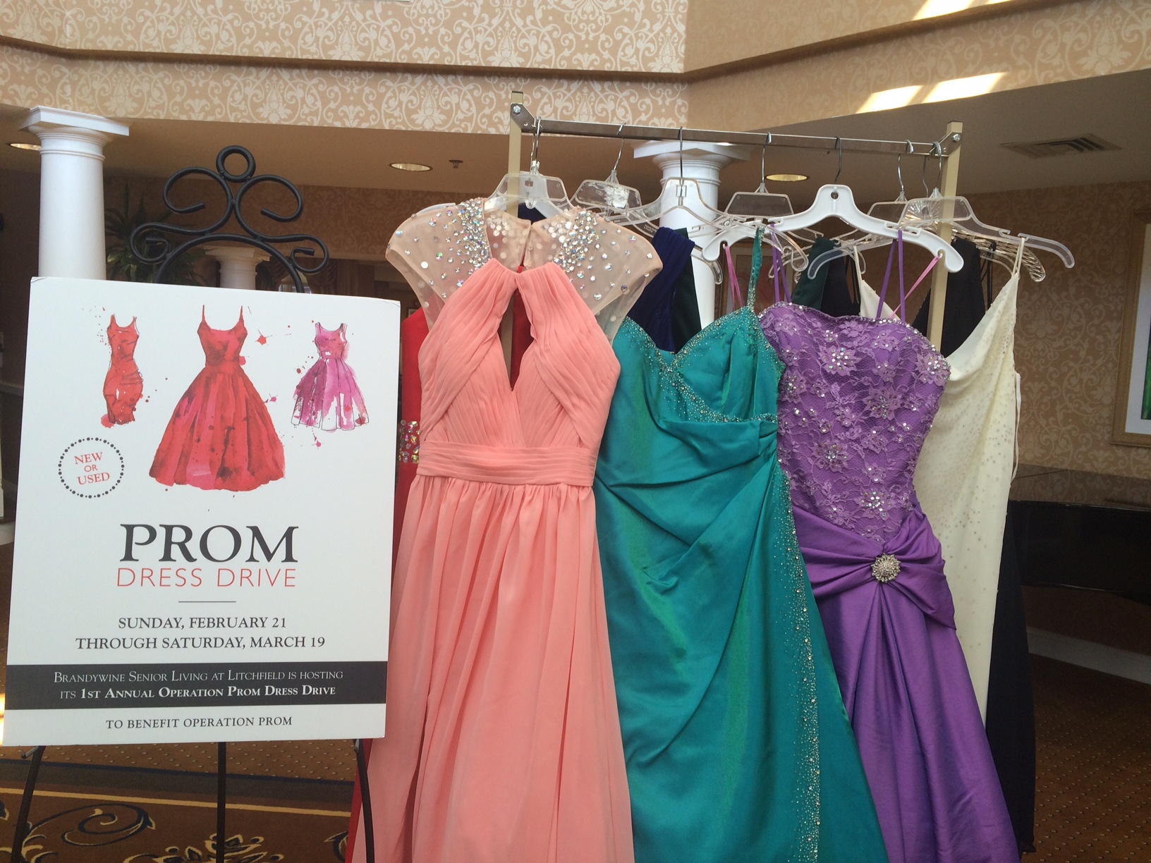 Litchfield\'s Prom Dress Drive is a Huge Success! | Brandywine Living ...