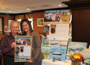 Artist Masterpieces Unveiled at PAFA Exhibition, PAFA Exhibit, Masterpieces Unveiled, Art Therapy, Brandywine Senior Living