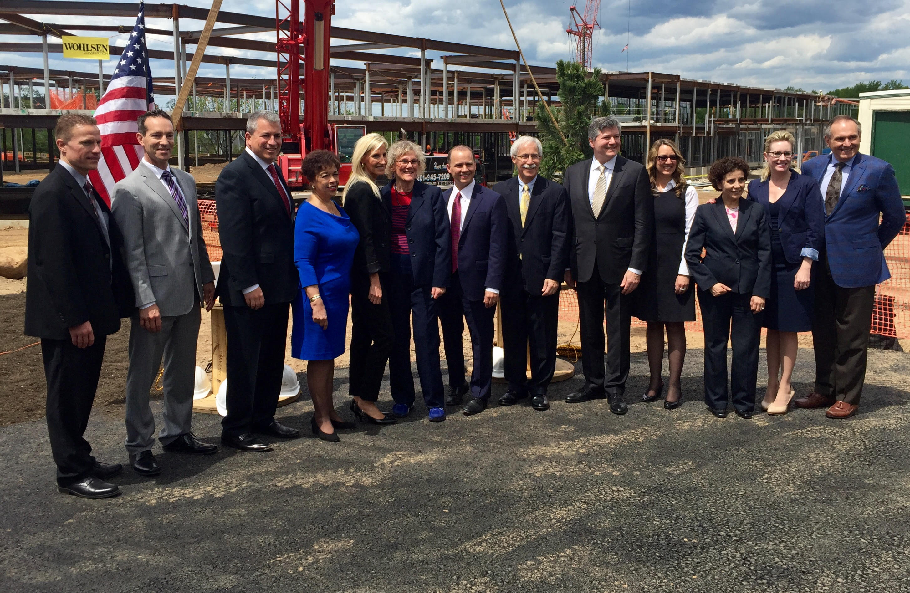 Brandywine Topping Out Ceremony