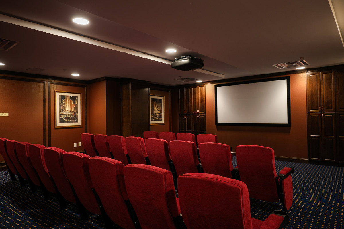 Brandywine Living at Alexandria Movie Theater