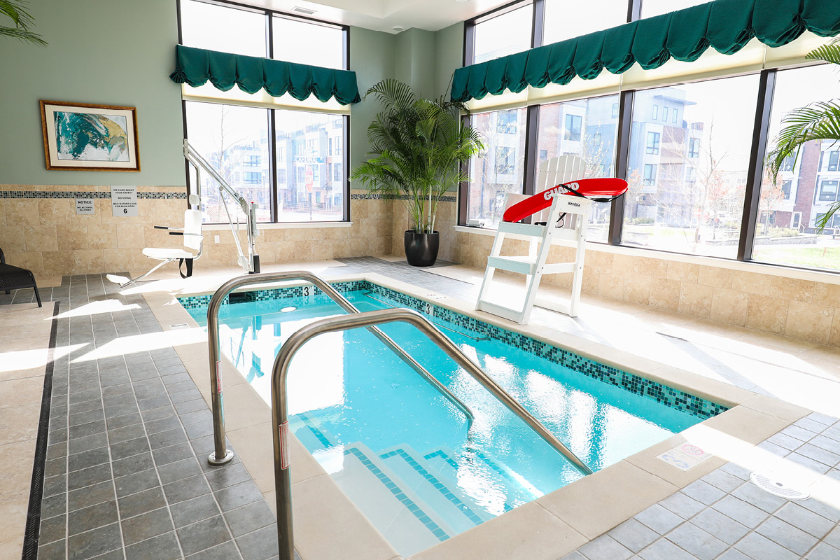 Brandywine Living at Alexandria Therapy Pool
