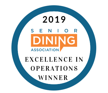 Senior Dining Association Excellence in Operations Winner