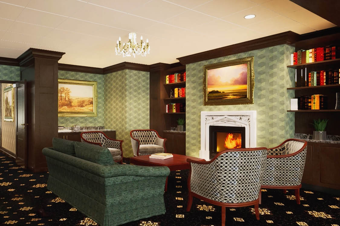 Brandywine Living at Potomac Serenade Lounge