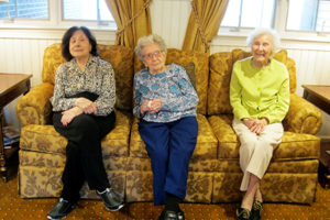 brandywine living at litchfield, 3 residents older than their right to vote, woman president