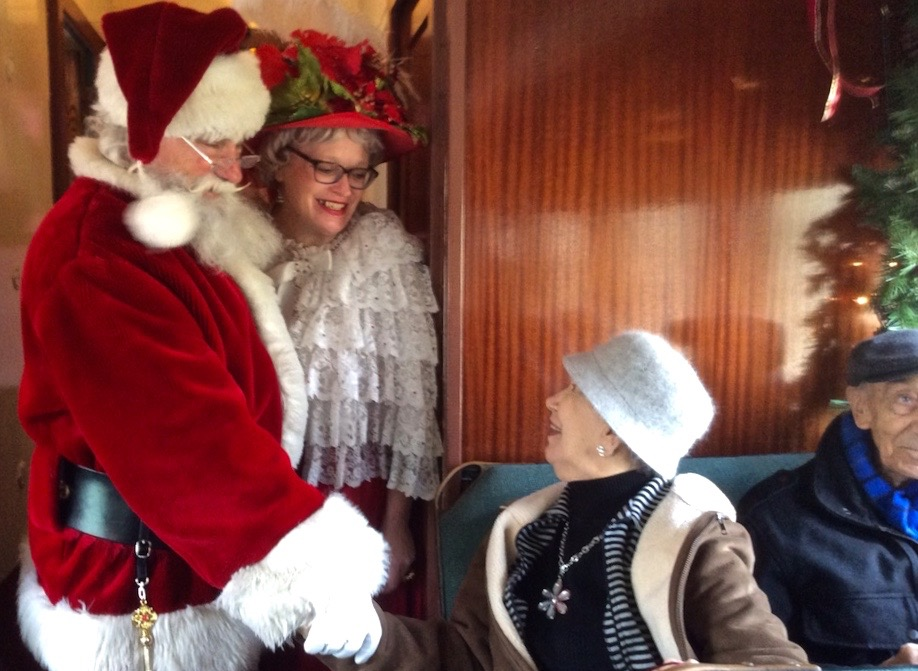Christmas Train Ride Nj.A Trip On The New Hope Train Ride For Brandywine Living