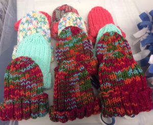 Collection of Colorful Knitted Hats