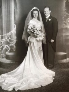 Hugh and Mary VanSciver's Vintage Wedding Photo