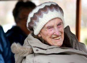 helen turner smiling in winter clothes