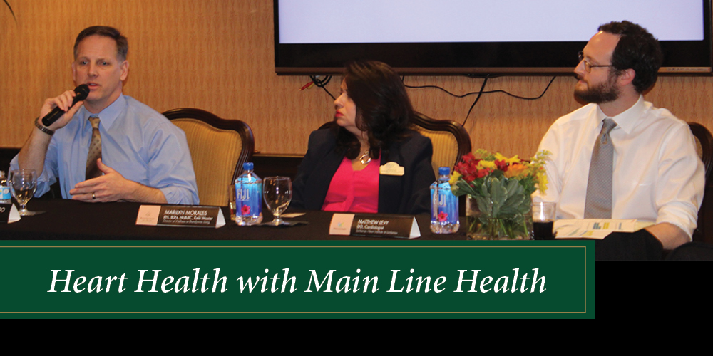 Panel Speaking during Heart Health Lecture
