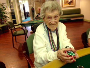 helen turner playing casino game