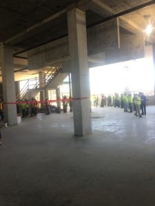 brandywine living alexandria, topping out ceremony