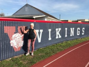 89 Year Old Enters First Penn Relays, brandywine living at voorhees