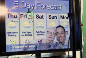 weatherman john marshall, brandywine living at princeton