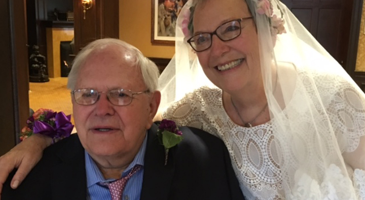 Su and Hank Kenderine Dresses in Wedding Attire