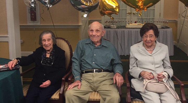 brandywine living at dresher, four centenarians celebrate birthdays