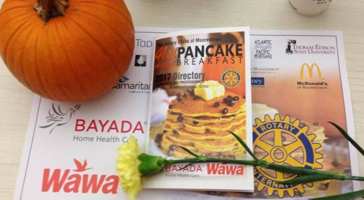 Pancake Breakfast Program and Pumpkin