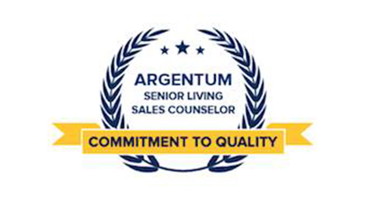 senior living sales counselor certificate recipients